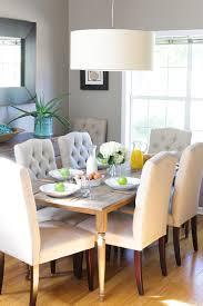 dining tables white farmhouse table rustic dining room tables