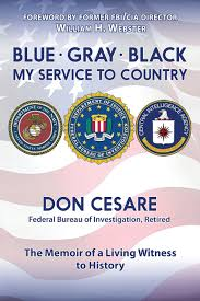 blue gray black my service to country donald j cesare