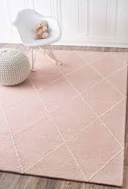 tuscanvs176 hand tufted wool dotted diamond trellis rug nursery