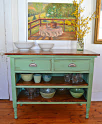 heir and space antique dresser turned kitchen island would be