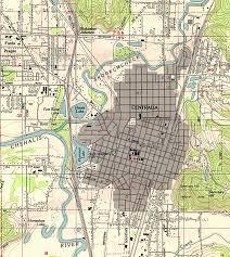 Spokane Washington Map Washington Maps Perry Castañeda Map Collection Ut Library Online