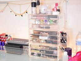 Bathroom Makeup Storage Ideas by Make Up Storage Containers Makeup Storage Ideas Design Ideas