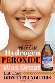 Teeth Whitening With Hydrogen Peroxide 50 Ways To Use Hydrogen Peroxide For Cleaning And Common Health