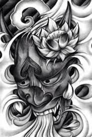 hannya mask samurai tattoo hannya mask hannya pinterest masking