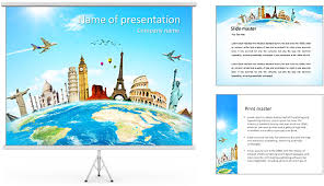 template powerpoint travel free travel powerpoint templates design