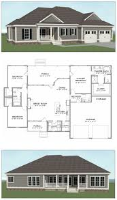 Shed Roof Home Plans by 27 Best Bungalow Home Plans Images On Pinterest Home Builder