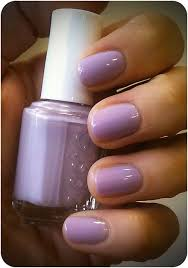 lilac nails essie nice is nice beauty and the brunette nails