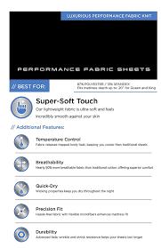 amazon com sheex original performance sheet pillowcases set