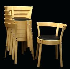 Stackable Dining Room Chairs Stackable Dining Chair Analaura Space