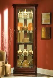 Pulaski Furniture Curio Cabinet by Corner Curio Cabinet Victorian Cherry Pulaski Home Gallery