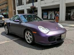 porsche purple fairly bonkers matte purple on this porsche 996 turbo