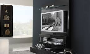 Interesting Modern Black Living Room Decoration Using Modern Black