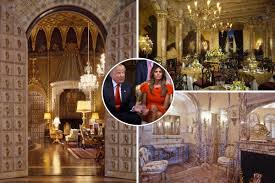 thanksgiving 1993 see inside the ridiculously posh pad donald trump had remodelled