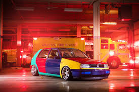 volkswagen harlequin for sale vwvortex com 43 264 harlequin golf with r32 motor swap more