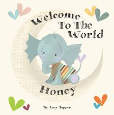 baby book welcome to the world personalised new baby book by fromlucy