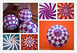 how to diy pretty paper woven baubles fab diy