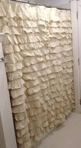 Country Chic Shower Curtains Burlap Shower Curtain Bazaraurorita