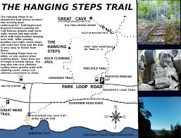 Acadia National Park Map Abandoned Trails Of Acadia National Park The Hanging Steps