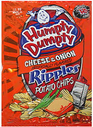 ripples chips humpty dumpty potato chips ripples cheese 9 0 oz