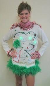 drag glam foofoo boa sweater dress light up