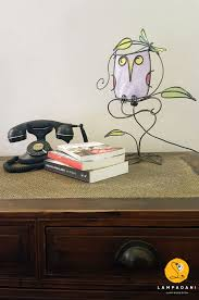 Owl Table L Owl On Branch Table L Ladani