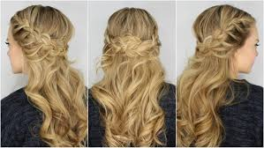 a special look for special occasions half up braids