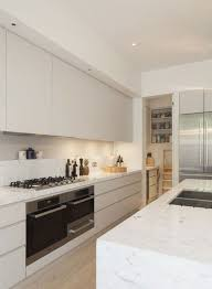 How To Clean Laminate Cabinets White Marble Island And Countertop For Modern Kitchen Design Ideas