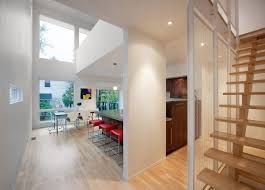 slim style narrow house is a masterpiece of fine modern design