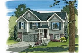 split level ranch house modern house plans split level duplex plan small country with