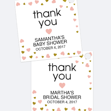 bridal shower favor tags bridal shower favor tags strawberry and hearts