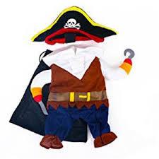 Amazon Halloween Costumes Amazon Topsung Cool Caribbean Pirate Pet Halloween Costume
