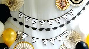 decorations for graduation black and white party decorations graduation party ideas classic