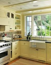 Yellow Kitchen Cabinets - pin by maria riley on dream kitchens pinterest