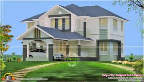 House With 4 Bedrooms July 2014 Kerala Home Design And Floor Plans