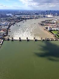 thames barrier failure the thames barrier holding back a recent storm surge 720x960