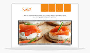 cuisine soleil soleil adobe muse template by musethemes com