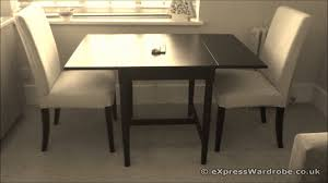 ikea ingatorp dining table with henriksdal chairs youtube