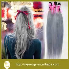silver hair extensions hair weaving hair extension ombre human hair
