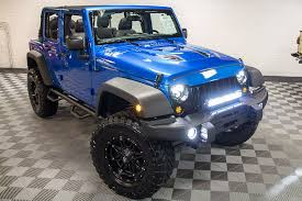 jeep wrangler custom lights aev 3 5 dualsport sc suspension system custom alea leather interior