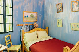 bedroom in arles room identical to vincent van gogh s bedroom in arles is listed on