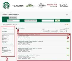 how to apply for starbucks jobs online at starbucks com careers
