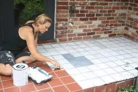 i painted faux encaustic cement tile on my front porch u2022 mimzy