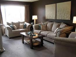 Dark Brown Sofa Living Room Ideas by Living Room Wall Decorating Ideas With Dark Brown Sofa S Best