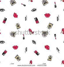 vector fashion sketch hand drawn graphic stock vector 439838068