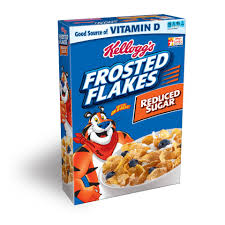 Breakfast Food Cereal Walmart Com by Kellogg U0027s Frosted Flakes Cereal Family Size 26 8 Oz Walmart Com
