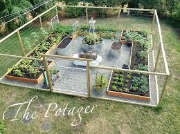 Garden Barrier Ideas Building Your Own Vegetable Garden Best Garden Fencing Ideas On