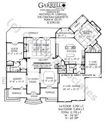 chateau floor plans chateau lafayette house plan house plans by garrell associates inc