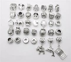 european bead bracelet charms images Mix 35pcs dog dolphin dollar beads pendant european bead fits jpg
