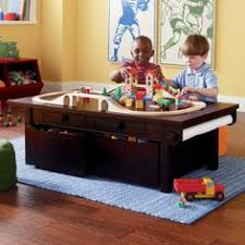 Kidkraft Train Table Natural 17851 The Best Train Table For Kids With Plenty Of Storage Train Table