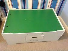 melissa doug wooden multi activity play table activity play table for brio elc type trains 85x65cm ebay